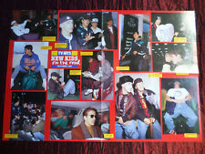 "NEW KIDS ON THE BLOCK  "" PULL-OUT MAGAZINE POSTER ""  - POP/ROCK MUSIC - #2"