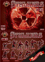 Dark Alliance 72040 Stalkers (Set 2) (48 figures/ 12 poses) plastic figures 1/72