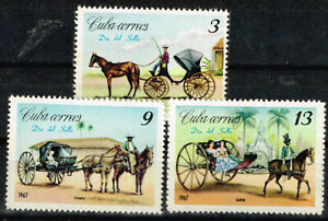 Carribian Island Pets Horses Carriages set 1967 MLH A-4