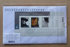2016 CANADA PHOTOGRAPHY SET OF 2 FIRST DAY COVERS FDC