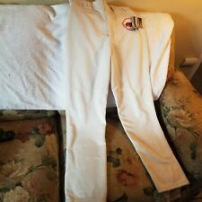 SAN FRANCISCO GIANTS GAME PANTS - SMALL - THROWBACKS - MAJESTIC - NWT