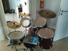 Komplettes Schlagzeug Set