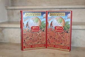 Jules  Verne / Hector servadac  2 vol  michel de l'ormeraie, 1977