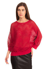 RRP €415 M MISSONI Jumper Size M Wool Blend Open Knit See Through Made in Italy