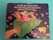 Catalogue de jouets vintage 1977 Nouvelles Galeries