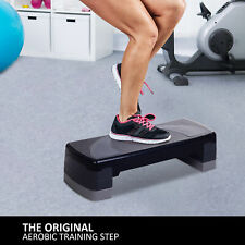 """New Year Sale  Aerobic Step Trainer Cardio Workout Fitness 4""""-6""""-8"""" Adjustable"""
