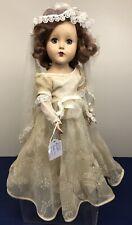 14� Antique Vintage Arranbee R&B Nanette Bride Wedding Gown All Original #S