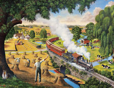 Jigsaw puzzle Train Days Gone By 300 piece NEW Made in USA