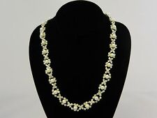 CHARTER CLUB $44 Silver Tone Pearl Style Necklace Store Display SKU71A