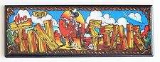 Tin Star Marquee FRIDGE MAGNET (1.5 x 4.5 inches) arcade video game header
