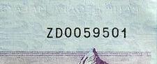Rm100 Malaysia note 2012 Prefix ZD (2 zero)  # 545