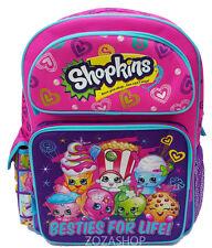 """Shopkins Backpack 16"""" Large School backpack NEW! Licensed Girl Bag NEW!"""