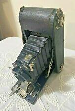 Antique 1916 Kodak Folding Scout No. 2A Seneca Camera Wollensak Lens