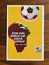 PANINI STICKER, OFFICIAL POSTER FOR THE WORLD CUP SOUTH AFRICA 2010 #SA27-28