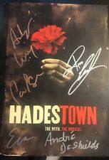 HADESTOWN Autographed Broadway Cast Signed PROGRAM By All Leads