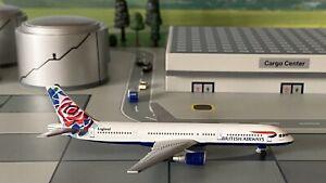 "Boeing 757-200 British Airways ""England""1:500 mit OVP Herpa Wings Flugzeugmodell"