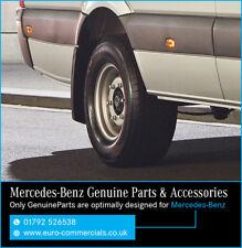 New Genuine Mercedes Benz Sprinter Rear Mudflap Set 2007 On - Mud flaps SWB