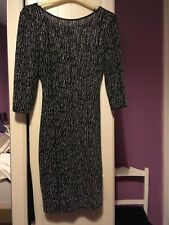 Ladies  black sparkly evening dress size 10