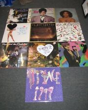 Lot of 10 Prince Lp's One Sealed Purple Rain ... DJ singles NICE LOT