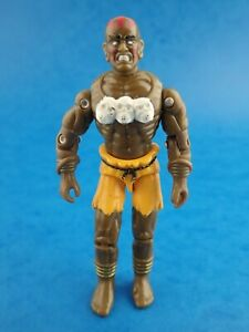 Vintage 1993 G.I JOE - DHALSIM Street Fighter Hasbro Toy 3.75""