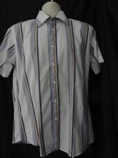 Men's Stretch Cotton Striped Casual Shirts & Tops