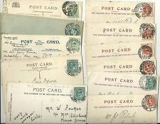 1897-1905 11 Birmingham NUMERATO postmarks su P / CS FERRO opere & ppcs più diff
