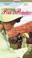 BBC Pride and Prejudice 1985 (VHS 2Pc Set) Elizabeth Garvie David Rintoul
