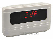 Motion Detection HD Covert Camera Talking Alarm Clock and Voice Recording KL218W