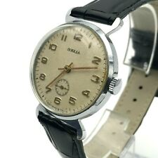 POBEDA Soviet Russian Classic Men's Casual USSR Mechanical Ivory SERVICED Watch