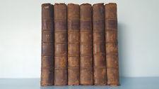 Sermons on Several Subjects by Thomas Secker - Rivington 1770-71 Volumes 2-7