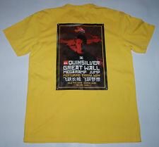 SKATEBOARD T SHIRT QUIKSILVER DANNY WAY 2005 GREAT WALL CHINA MEGARAMP PLAN B L