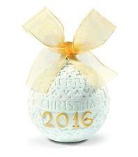 Lladro 2016 Annual Christmas Re-deco Ornament #18412 *New*