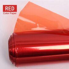 40*50cm Gels Color Correction Filter Paper for Studio Light Red Head Light / Red