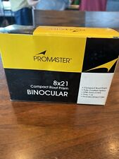 Promaster 8x21 Binoculars In Original Box Sealed New Mint