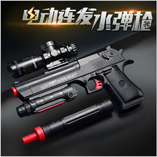 High Quality AutomaticToy Gun Airgun Soft Bullet Gun Paintball Pistol Toy Game