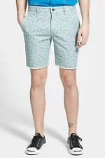 RVCA ALL TIME CUT OFF SHORTS SKATE IRON MENS SIZE 34 NEW WITH TAGS $49.50