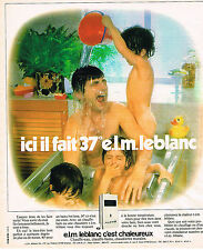 PUBLICITE ADVERTISING 124  1977  ELM LEBLANC   chauffe-eau chaudière