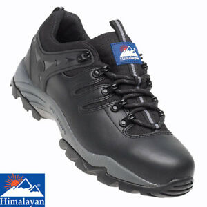 Himalayan 4020 S1P Black Leather Steel Toe Cap Gravity Sports Safety Trainer UK8