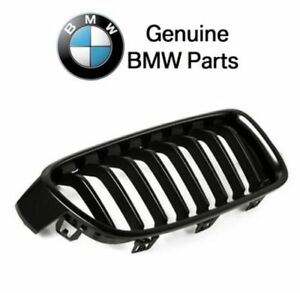 Genuine BMW 3-Series Front Grille Radiator Right Glass Black OEM 51712240778