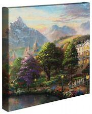 "SOUND OF MUSIC - Thomas Kinkade 14"" x 14"" Gallery Wrap Canvas"
