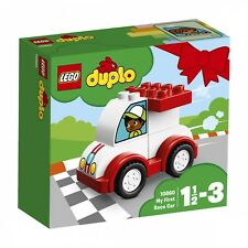LEGO ® DUPLO ® 10860 il mio primo MOTORIZZATA NUOVO OVP _ My First RACE CAR NEW MISB NRFB
