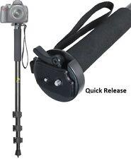 Resistente 183cm Monopiede con Custodia per Nikon Coolpix L32 L840 S7000 S9900