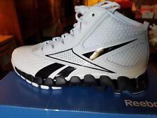 Reebok Men's Zig Pro Future Basketball Shoe - White/Black - Size 8.5