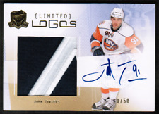 2009-10 The Cup Limited Logos #LLJT John Tavares Rookie Patch Auto #10/50