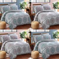 Painted Mandala Duvet Cover Set Double Single King Size Luxury Bedding New Quilt