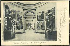 1905 - Parma - Pinacoteca - Veduta della Galleria