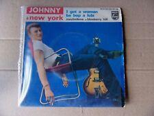 "Disque 45 t Johnny Hallyday ""Johnny à New York""  Année 1962 Medium 432.761 BE"