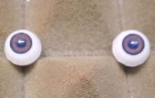 "pair of acrylic eyes grey/brown paperweight 0.39""/ 10 mm"