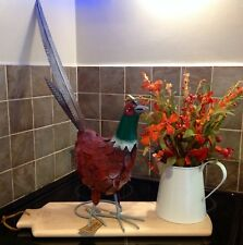 Decorative Metal Statue/Ornament Pheasant