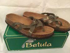"Betula by Birkenstock "" Vinja ""Sandal - UK 7 - Bronze Olive"